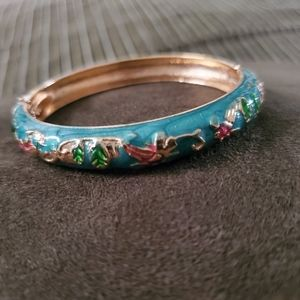 Jewelry - Cloisonne Vintage Oriental Chinese Enamel Bangle
